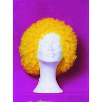Περούκα Clown κίτρινη