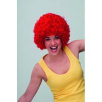Περούκα Clown Κόκκινη