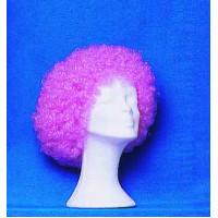 Περούκα Clown ροζ