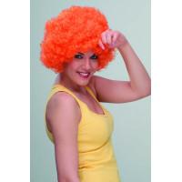 Περούκα Clown πορτοκαλί