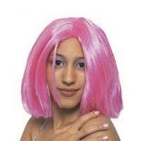 Περούκα Ηρώ ροζ