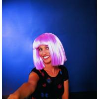 Περούκα Σεσίλια ροζ